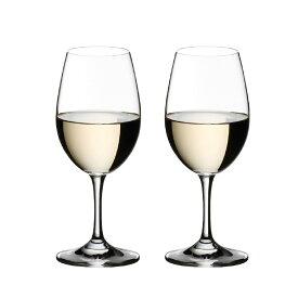 リーデル オヴァチュア ホワイトワイン グラス 280cc 6408/5 2脚セット 614 メーカ直送品  代引き不可/同梱不可