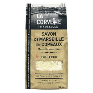 La Corvette(ラ・コルベット) サボン・ド・マルセイユ フレークソープ エクストラピュア 750g メーカ直送品  代引き不可/同梱不可