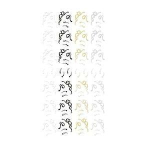 TSUMEKIRA(ツメキラ) ネイルシール noble KUROプロデュース1 Ivy french parts (ジェル専用) NO-KUR-101 メーカ直送品  代引き不可/同梱不可