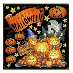 Pデコレーションシール 68540 ハロウィン かぼちゃ メーカ直送品  代引き不可/同梱不可