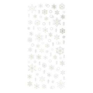 TSUMEKIRA(ツメキラ) ネイルシール 雪の結晶8 ユキノカタチ ホワイトゴールド SG-YUK-802 メーカ直送品  代引き不可/同梱不可
