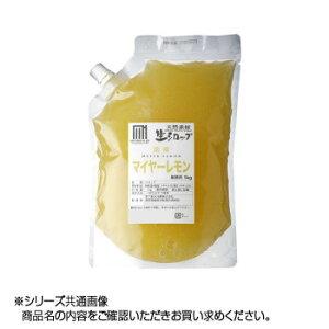 かき氷生シロップ 国産マイヤーレモン 業務用 1kg 3パックセット メーカ直送品  代引き不可/同梱不可