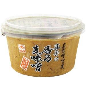 藤安の香る麦味噌 300g 6個セット メーカ直送品  代引き不可/同梱不可