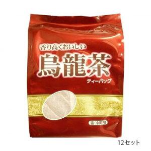 つぼ市製茶本舗 香り高くおいしい烏龍茶 ティーバッグ 128g(4g×32p) 12セット メーカ直送品  代引き不可/同梱不可