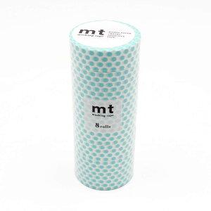 mt マスキングテープ 8P ドット・ソーダ MT08D363 メーカ直送品  代引き不可/同梱不可