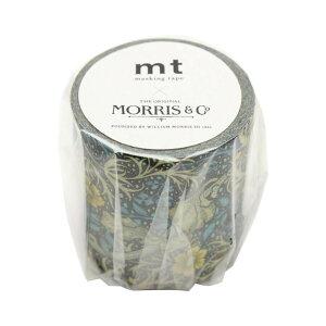 mt マスキングテープ mt×artist series ウィリアム・モリス seaweed MTWILL10 メーカ直送品  代引き不可/同梱不可