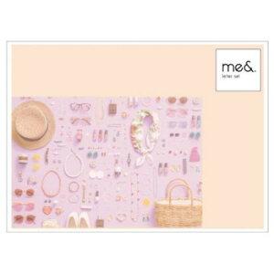 me& レターセット ファッション 5個セット MA1412 メーカ直送品  代引き不可/同梱不可