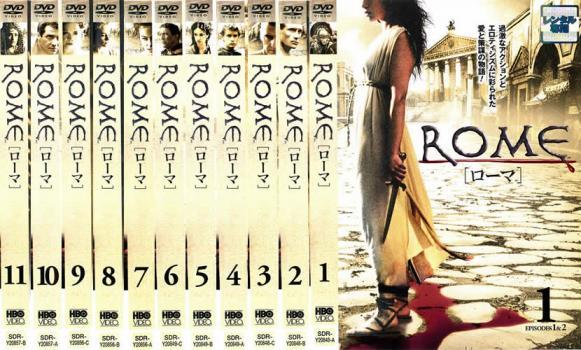 ROME ローマ 11枚セット EPISODE1〜22【全巻セット 洋画 海外ドラマ 中古 DVD】レンタル落ち