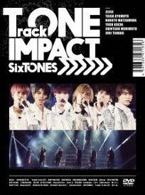 SixTONES TrackONE -IMPACT- 2DVD+フォトブック 初回盤【音楽 新品 DVD】送料無料 セル専用