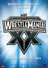 WWE レッスルマニア20 字幕のみ【スポーツ 中古 DVD】メール便可 レンタル落ち