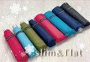 【送料無料】豊富なカラー☆折りたたみ傘(メール便対応)50cm手開き フラット レディース 紳士 女性 男性 折畳傘