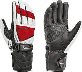 セール 18-19 レキ (636-846304) スキー手袋 GRIFFIN S (トリガーS対応) ホワイト/レッド (K)