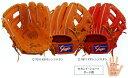【型付け無料】 久保田スラッガー 野球 軟式 グローブ(グラブ) KSN−24MS セカンド・ショート・サード用(内野手用) 【橙】 【KSN24MS】【返品・交換不可】
