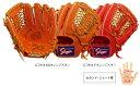 【型付け無料】 久保田スラッガー 野球 軟式 グローブ(グラブ) KSN−T1 セカンド・ショート用(内野手用) 【橙】 【KSNT1】【返品・…