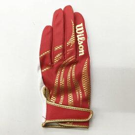 限定カラー ディマリニ 野球 守備用手袋 左手用 レッド WTAFG0308