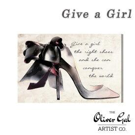 \800円OFFクーポン配布中/Oliver Gal オリバー・ガル Give a Girl 13119【額装 インテリア アートフレーム Dream Maker ドリームメーカー 日本総代理店品】【7,000円以上購入で送料無料】