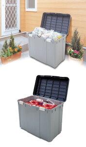 ワイドストッカー深型 WY-780D グリーン/グレー送料無料 ストッカー 屋外 収納ボックス フタ付き ゴミ箱 ごみ箱 分別 大型 大容量 ベランダ 軒下 庭 ポリタンク 灯油タンク アイリスオーヤマ