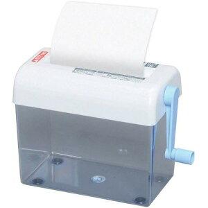 シュレッダー 手動 家庭用 卓上 小型 コンパクト アイリスオーヤマ 細断 はがき ダイレクトメール ハンディシュレッダー 卓上タイプ 卓上シュレッダー A4 個人情報 処分 簡単 手動 ペーパー