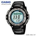 【送料無料】CASIO〔カシオ〕スポーツウォッチ デジタル腕時計 SPORTS GEAR SGW-100J-1JF【D】SHUM[CAWT]