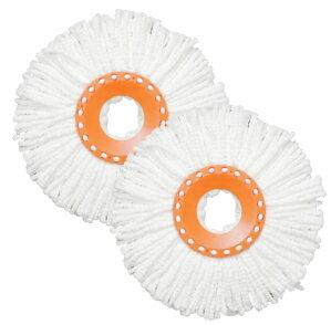 【あす楽対応】回転モップ スペアヘッド KMO-K2Pアイリスオーヤマ 交換用 スペア フローリング 畳 床掃除 清掃 ほうき エコ 雑巾 水拭き 乾拭き 花粉 ペット 室内