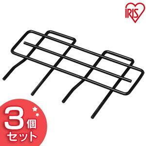 【3個セット】職人の車載ラック落下防止ワイヤー小 WSR-RBG25 ブラック アイリスオーヤマ