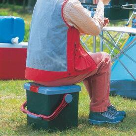 RVバケツ RV-25B アイリスオーヤマRVボックス 収納ボックス バケツ 収納 小物整理 椅子 踏み台 ステップ レジャー アウトドア [cpir]