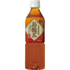 【24本セット】 神戸茶房 烏龍茶 PET 500ml ペットボトル 飲料 お茶 24本 セット 無香料 無着色 国産 富永貿易 【D】