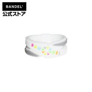 リング 指輪 cross ring ホワイト×マルチ(WhitexMultiクロスシリーズ) BANDEL バンデル メンズ レディース ペア スポーツ シリコンゴム