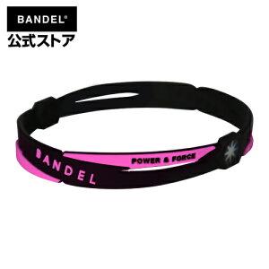 アンクレット cross anklet ブラック×ピンク(BlackxPinkクロスシリーズ) BANDEL バンデル メンズ レディース ペア スポーツ シリコンゴム