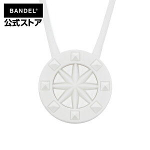 Studs Necklace White×White ネックレス ホワイト×ホワイト(WhitexWhite 白×白 スタッズ) BANDEL バンデル  メンズ レディース ペア スポーツ シリコンゴム