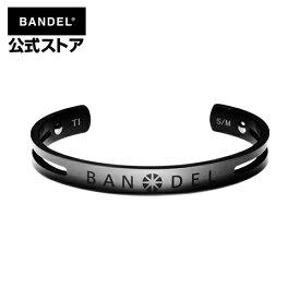 ネックレス titan bangle ブラック(Black チタン バングル ブレスレット) BANDEL バンデル  メンズ レディース ペア スポーツ