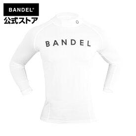 アンダーウェア 長袖 ロング ホワイト(white 白 ロンT) BANDEL high-neck long t-shirt black バンデル メンズ レディース スポーツ
