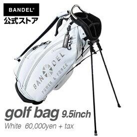 キャディーバッグ スタンドバッグ ゴルフバッグ ホワイト(WHITE 白) BANDEL 2019 golf bag BANDEL バンデル メンズ レディース スポーツ