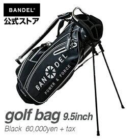 キャディーバッグ スタンドバッグ ゴルフバッグ ブラック(BLACK 黒) BANDEL 2019 golf bag BANDEL バンデル メンズ レディース スポーツ