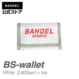 ウォレット ホワイト×レッド(WhitexRed 財布 コンパクト) BS-wallet(BS-WL 001) BANDEL バンデル メンズ レディース スポーツ