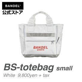 トートバッグ スモール ホワイト×レッド(WhitexRed スモールサイズ) BS-small tote(BS-ST 001) BANDEL バンデル メンズ レディース スポーツ