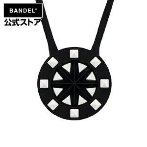 Studs Necklace Black×White ネックレス ブラック×ホワイト(BlackxWhite 黒×白 スタッズ) BANDEL バンデル  メンズ レディース ペア スポーツ シリコンゴム