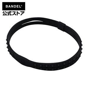 Studs Anklet Black×Black アンクレット ブラック×ブラック(BlackxBlack 黒×黒 スタッズ) BANDEL バンデル  メンズ レディース ペア スポーツ シリコンゴム