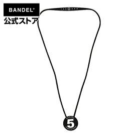 ネックレス BANDEL necklace No.5 ブラック×ホワイト(BlackxWhite 黒×白) BANDEL バンデル メンズ レディース ペア スポーツ シリコンゴム