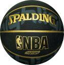 バスケットボール SPALDING ラバーボール ゴールドハイライト 5号 外用