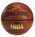 名入れ可能 バスケットボール SPALDING GOLD ゴールド 5号 合成皮革