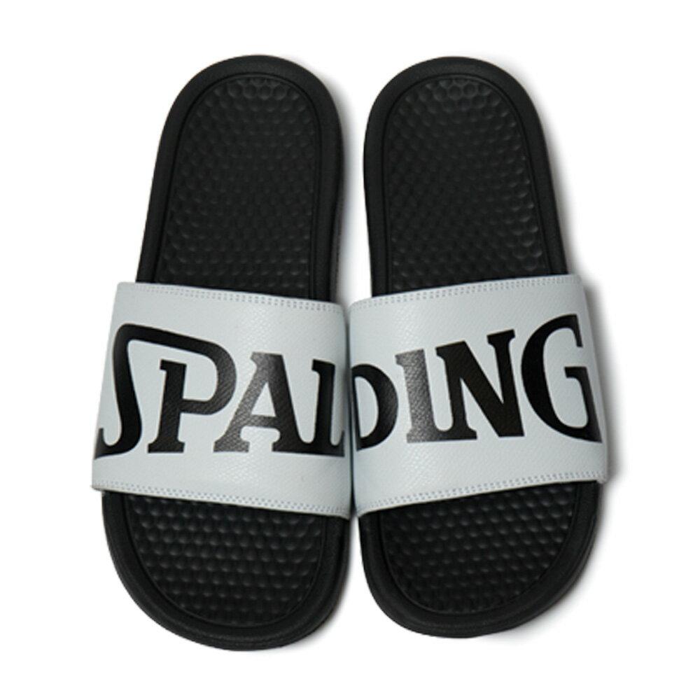 SPALDING スポーツサンダル ブラック×ホワイト メンズ