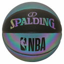 バスケットボール SPALDING イリディセント 7号 合成皮革