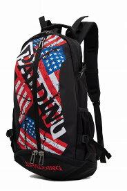 バスケット専用バッグケイジャー STARS & STRIPES スターズアンドストライプス スポルディング NBA公式球ブランドSPADLING製 CAGER BASKETBALL BAG Backpack バックパック
