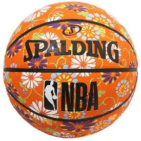 バスケットボール SPALDING ラバーボール キク 6号 外用