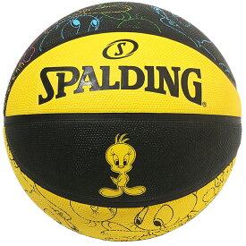 バスケットボール SPALDING ラバーボール トゥイーティー 5号 外用