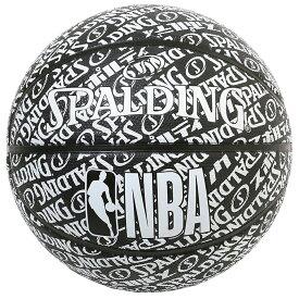 バスケットボール SPALDING ラバーボール タイポグラフィー 7号 外用