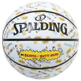 バスケットボール SPALDING ラバーボール ビーバス アンド バットヘッド 7号 外用