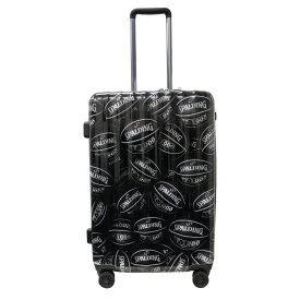 SPALDING ダブルホイールキャリー スーツケース 64L