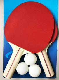 JOHNSON 卓球ラケットセット シェークハンドラケットボール
